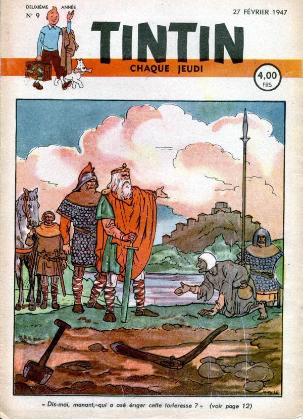 Journal de TINTIN �dition Belge N� 9 du 27 F�vrier 1947