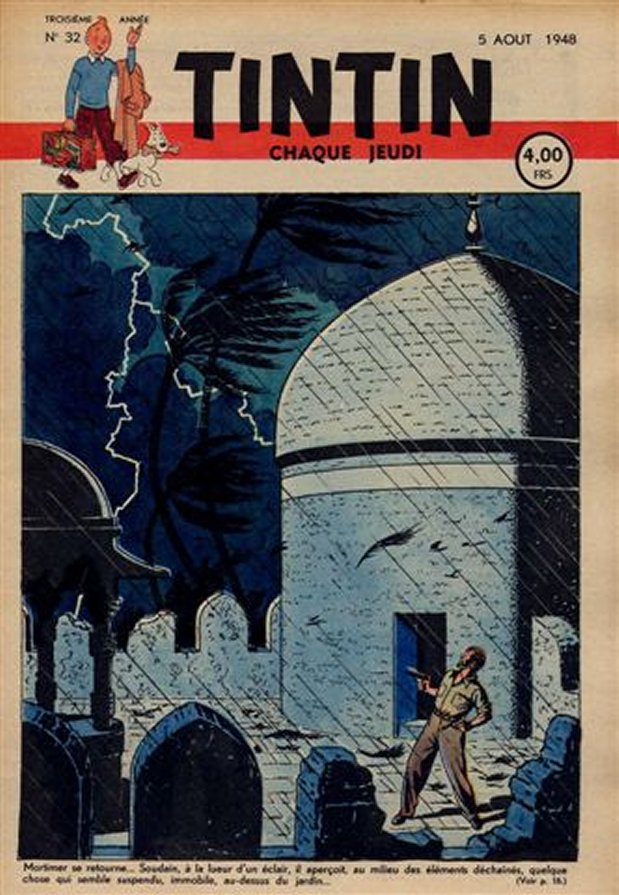 Journal de TINTIN �dition Belge N� 32 du 5 Ao�t 1948