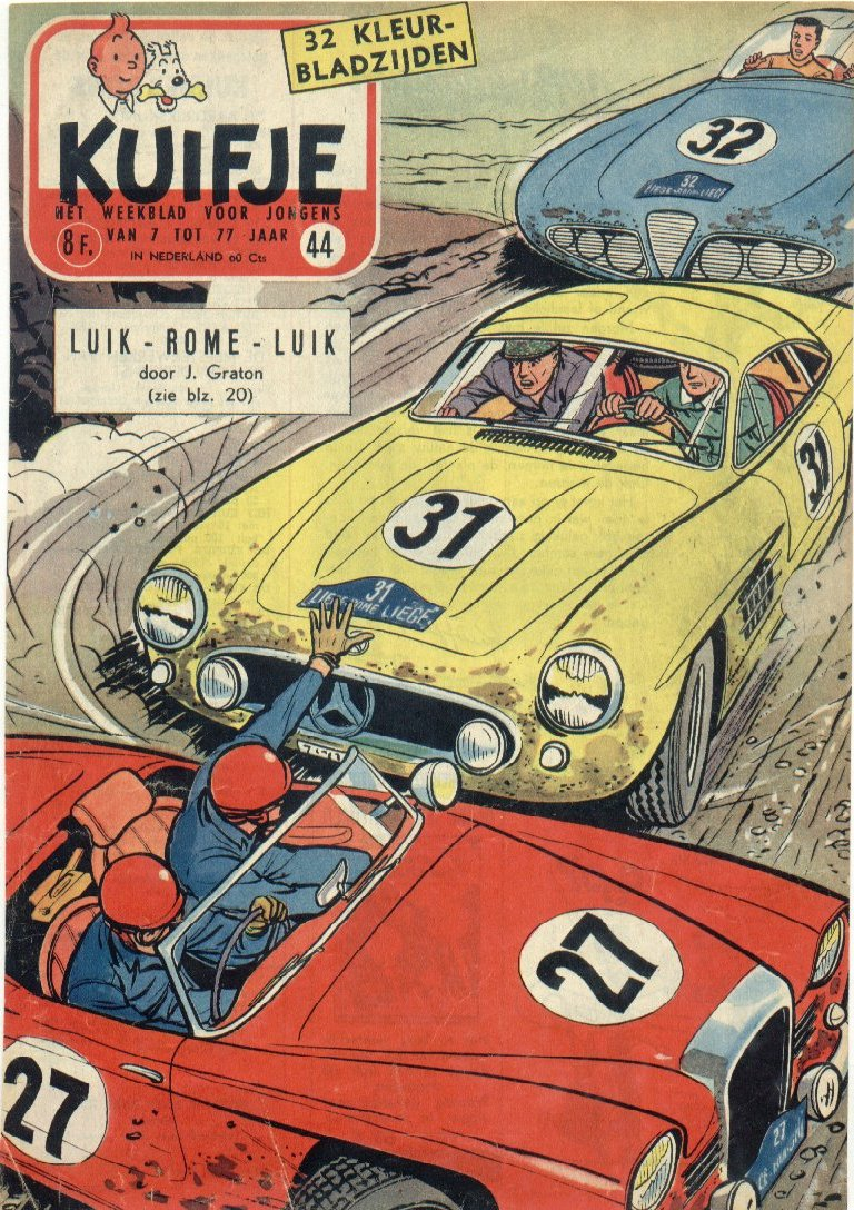 Kuifje weekblad N� 44 du 30 Octobre 1957