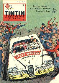 Journal de TINTIN �dition Belge N� 6 du 5 F�vrier 1958