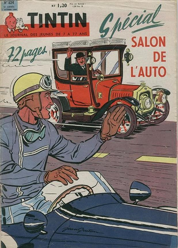 Journal de TINTIN �dition Fran�aise N� 624 du 6 Octobre 1960