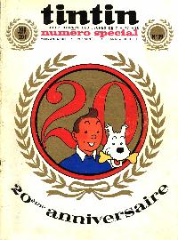 Journal de TINTIN �dition Belge N� 39 du 27 Septembre 1966