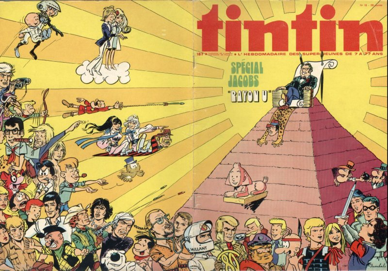 Journal de TINTIN �dition Belge N� 18 du 30 Avril 1974