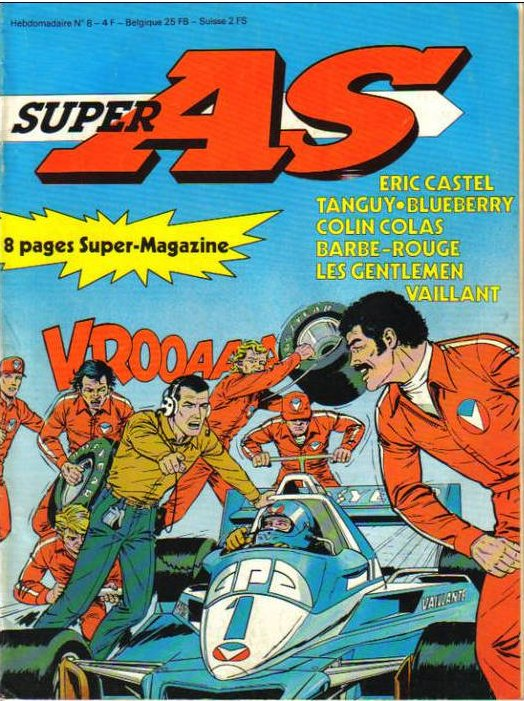 Super AS equi. pour la France de Super J N� 8 du 3 Avril 1979