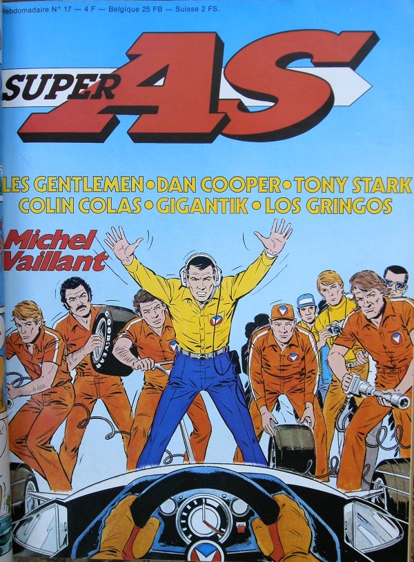 Super AS equi. pour la France de Super J N� 17 du 5 Juin 1979