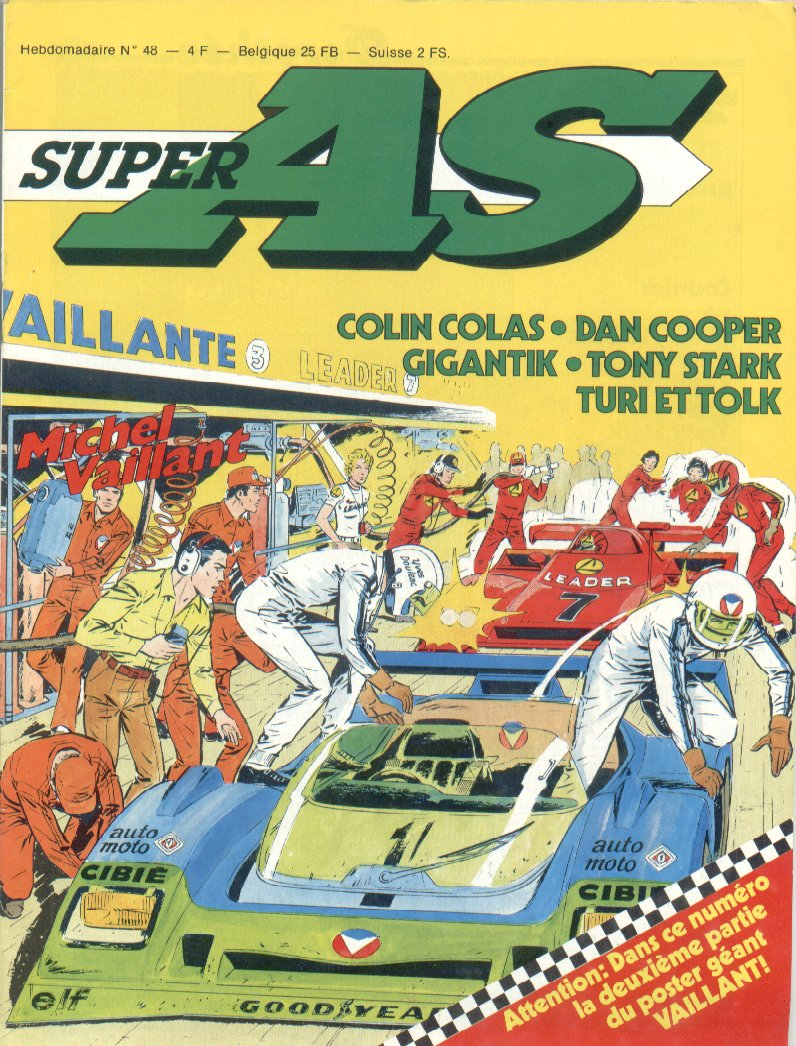 Super AS equi. pour la France de Super J N� 48 du 8 Janvier 1980