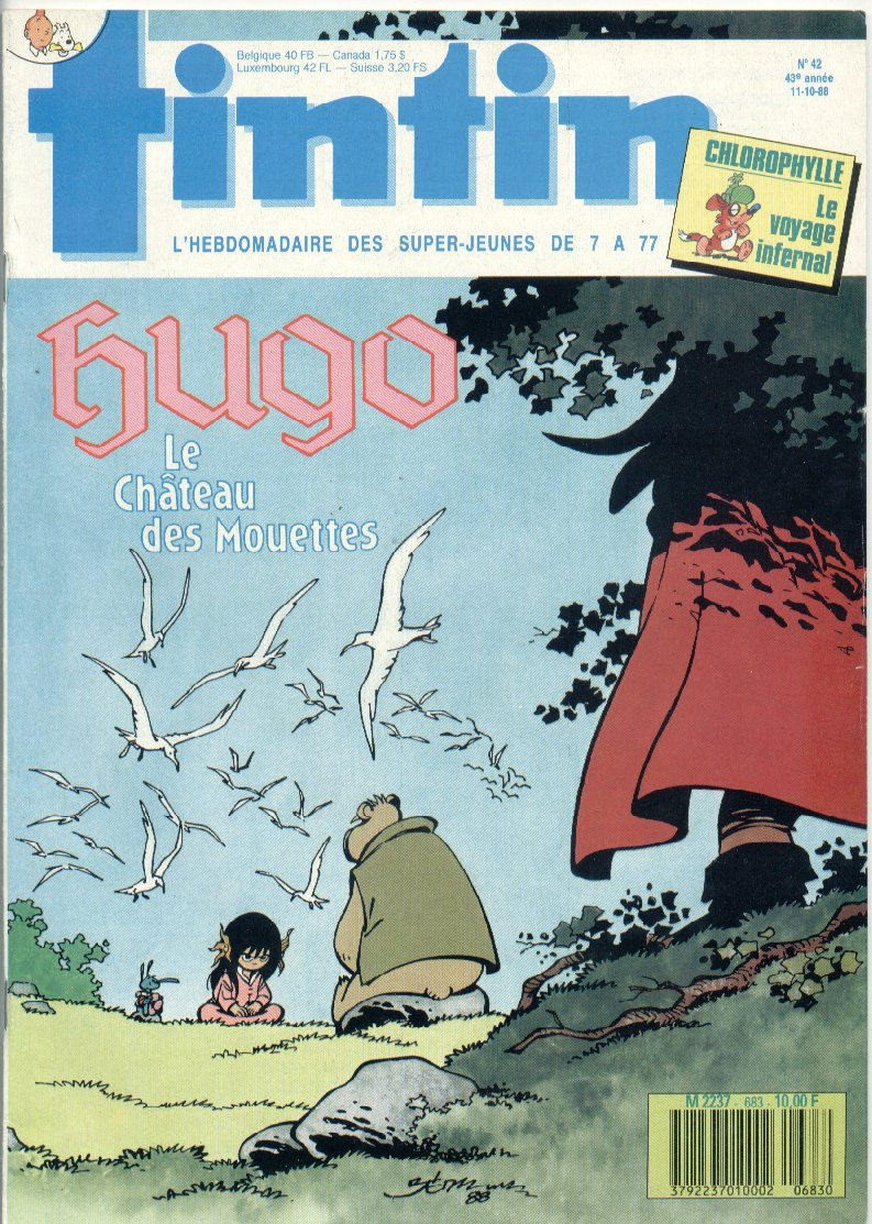 Journal de TINTIN �dition Fran�aise N� 683 du 11 Octobre 1988