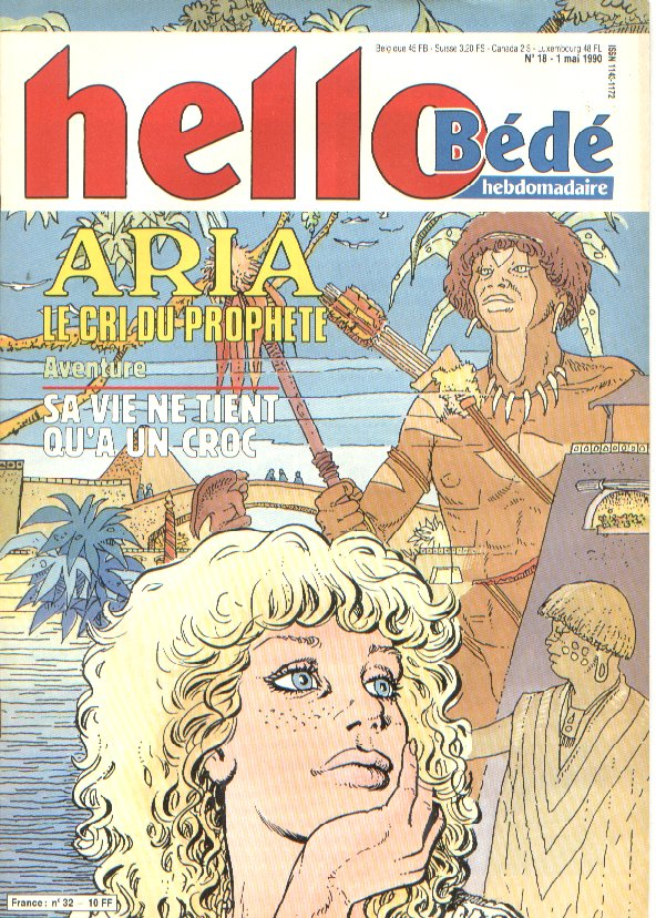 Journal Hello Bédé N° 32 du 1 Mai 1990
