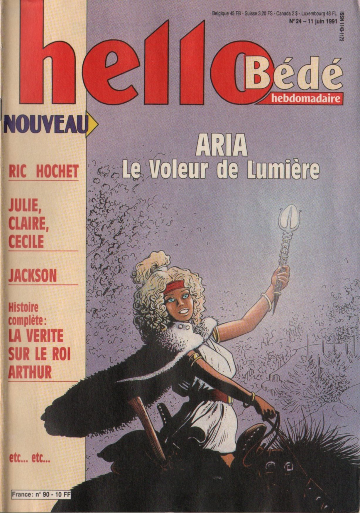 Journal Hello Bédé N° 90 du 11 Juin 1991
