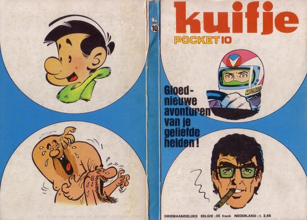 Kuifje Pocket N� 10 du 1975