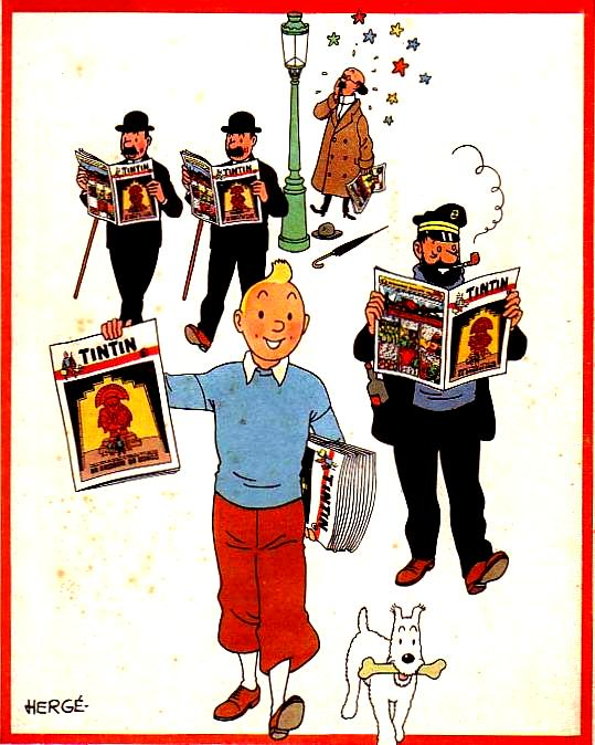 LE JOURNAL DE TINTIN