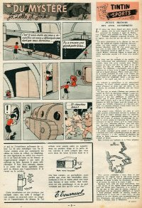 Page 5 du Journal de TINTIN �dition Belge N� 9 du 27 F�vrier 1947