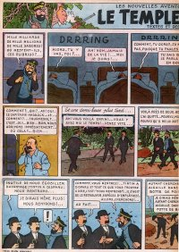 Page 8 du Journal de TINTIN �dition Belge N� 9 du 27 F�vrier 1947