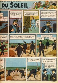 Page 9 du Journal de TINTIN �dition Belge N� 9 du 27 F�vrier 1947