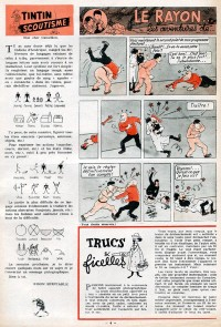 Page 4 du Journal de TINTIN �dition Belge N� 18 du 1 Mai 1947