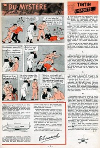 Page 5 du Journal de TINTIN �dition Belge N� 18 du 1 Mai 1947