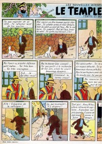 Page 8 du Journal de TINTIN �dition Belge N� 18 du 1 Mai 1947