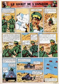 Page 16 du Journal de TINTIN �dition Belge N� 18 du 1 Mai 1947