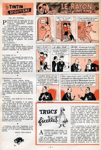 Page 4 du Journal de TINTIN �dition Belge N� 20 du 15 Mai 1947