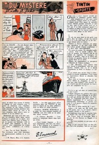 Page 5 du Journal de TINTIN �dition Belge N� 20 du 15 Mai 1947