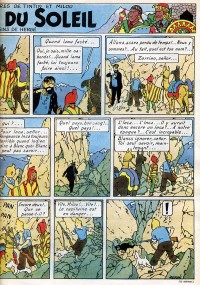 Page 9 du Journal de TINTIN �dition Belge N� 20 du 15 Mai 1947