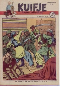 Kuifje weekblad N� 36 du 4 Septembre 1947