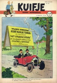 Kuifje weekblad N� 37 du 9 Septembre 1948