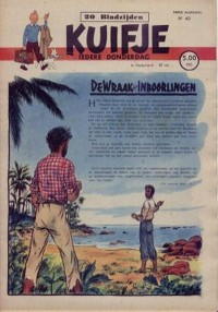 Kuifje weekblad N� 40 du 30 Septembre 1948