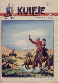 Kuifje weekblad N� 41 du 7 Octobre 1948