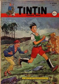 Journal de TINTIN �dition Fran�aise N� 121 du 15 F�vrier 1951