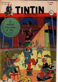 Journal de TINTIN �dition Fran�aise N� 129 du 12 Avril 1951
