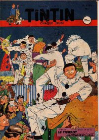 Journal de TINTIN �dition Fran�aise N� 131 du 26 Avril 1951
