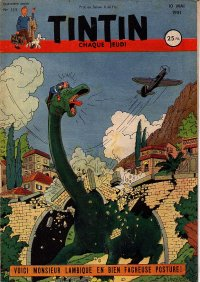 Journal de TINTIN �dition Fran�aise N� 133 du 10 Mai 1951