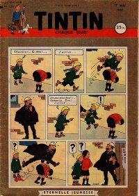 Journal de TINTIN �dition Fran�aise N� 134 du 17 Mai 1951