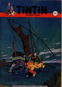 Journal de TINTIN �dition Fran�aise N� 145 du 2 Ao�t 1951