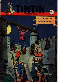 Journal de TINTIN �dition Fran�aise N� 146 du 9 Ao�t 1951