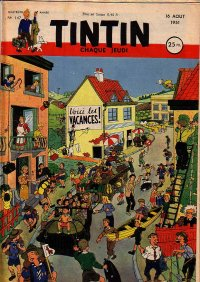 Journal de TINTIN �dition Fran�aise N� 147 du 16 Ao�t 1951