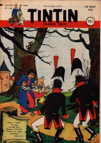 Journal de TINTIN �dition Fran�aise N� 148 du 23 Ao�t 1951