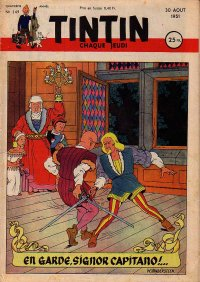 Journal de TINTIN �dition Fran�aise N� 149 du 30 Ao�t 1951
