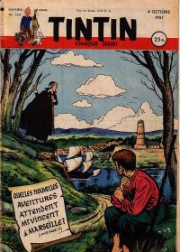 Journal de TINTIN �dition Fran�aise N� 154 du 4 Octobre 1951