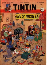 Journal de TINTIN �dition Fran�aise N� 162 du 29 Novembre 1951