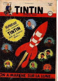 Journal de TINTIN �dition Fran�aise N� 187 du 22 Mai 1952