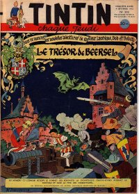 Journal de TINTIN �dition Fran�aise N� 202 du 4 Septembre 1952