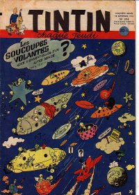 Journal de TINTIN �dition Fran�aise N� 204 du 18 Septembre 1952
