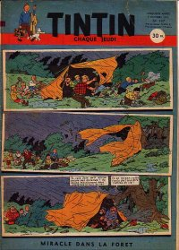 Journal de TINTIN �dition Fran�aise N� 207 du 9 Octobre 1952
