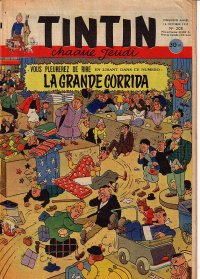 Journal de TINTIN �dition Fran�aise N� 208 du 16 Octobre 1952