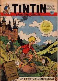 Journal de TINTIN �dition Fran�aise N� 210 du 30 Octobre 1952
