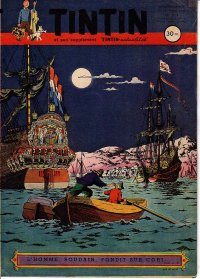 Journal de TINTIN �dition Fran�aise N� 214 du 27 Novembre 1952