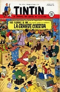 Journal de TINTIN édition Belge N° 36 du 3 Septembre 1952