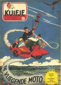 Kuifje weekblad N° 37 du 17 Septembre 1953